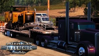 American Truck Simulator - Heavy Load - Wirtgen W2100 Cold Milling Machine