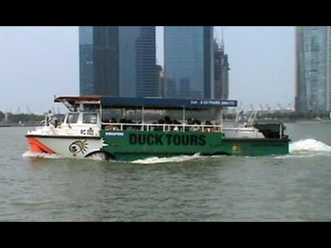Duck Boat tour of Singapore