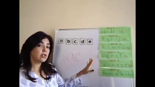 How to teach a child to read three letter words?