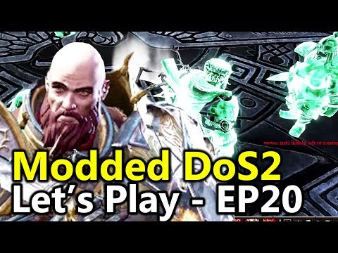 Restless Spirits - #20 Divinity Original Sin 2 (Dos2 Modded Let's Play)