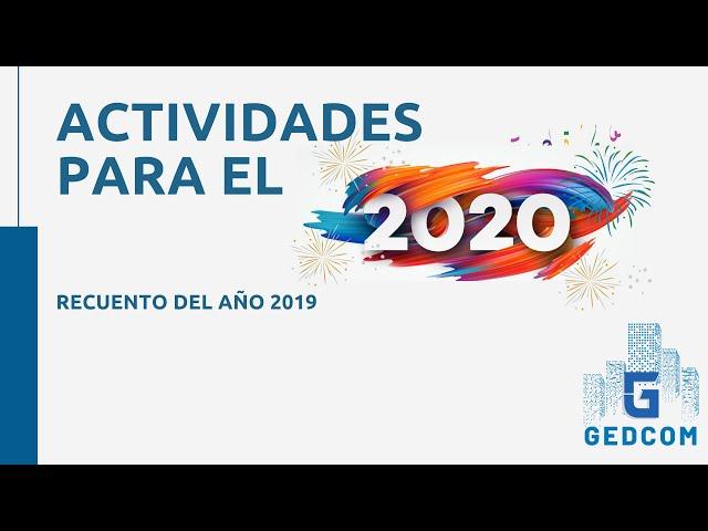 Año 2020 GEDCOM | Recuento del 2019 y novedades para el 2020