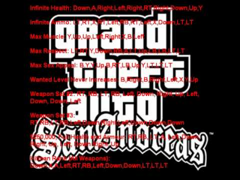 Full Download] Grand Theft Auto San Andreas Cheats For Xbox360
