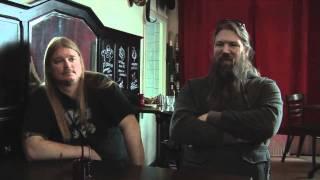 Amon Amarth interview - Johan Hegg and Olavi Mikkonen (part 1)