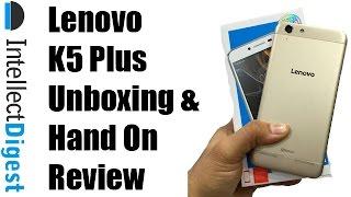Lenovo Vibe K5 Plus Review Videos