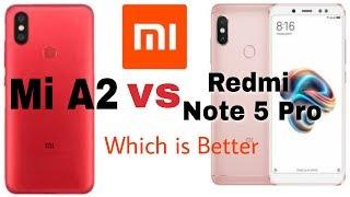Xiaomi Mi A2 vs Redmi Note 5 Pro Full Specifications Comparison in hindi