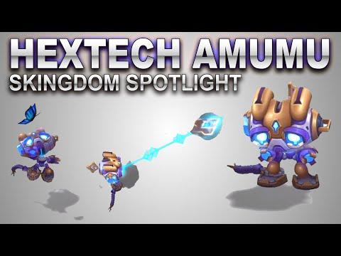 Hextech Amumu Skin Spotlight | SKingdom - League of Legends