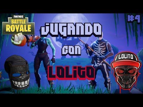 JUGANDO con LOLITO FDEZ | WINS en SQUADS en NA | Fortnite #4