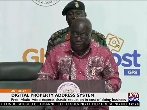 Digital Property Address System – Joy News Today (18-10-17)