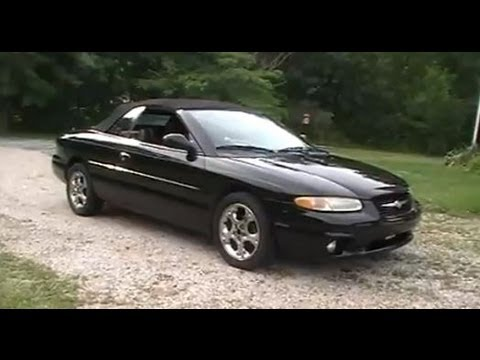 Tour Of My 1998 Sebring Limited Convertible