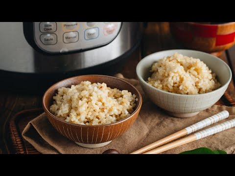 how-to-make-brown-rice-in-the-instant-pot-(recipe)-美味しい玄米の炊き方(圧力鍋)-(レシピ)