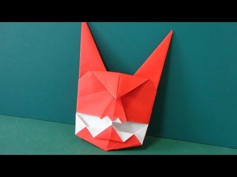 ハート 折り紙 折り紙 おに : youtube.com