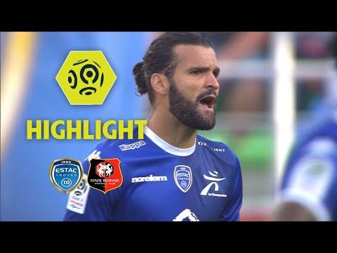 ESTAC Troyes - Stade Rennais FC (1-1) - Highlights - (ESTAC - SRFC) / 2017-18