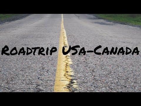 Best of USA & Canada Roadtrip in 4k