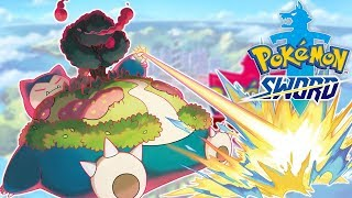 Pokemon Sword - SZUKAMY GIGANTAMAXÓW! [GIGANTAMAX SNORLAX?]
