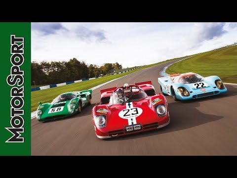 Triple test: Porsche 917, Ferrari 512S and Lola T70