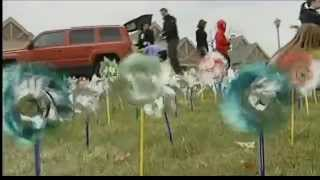 Pinwheels Draw Attention to Child Abuse (WYTV)