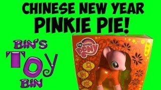 My Little Pony Chinese New Year Pinkie Pie Toys R Us Exclusive Review! By Bin's Toy Bin