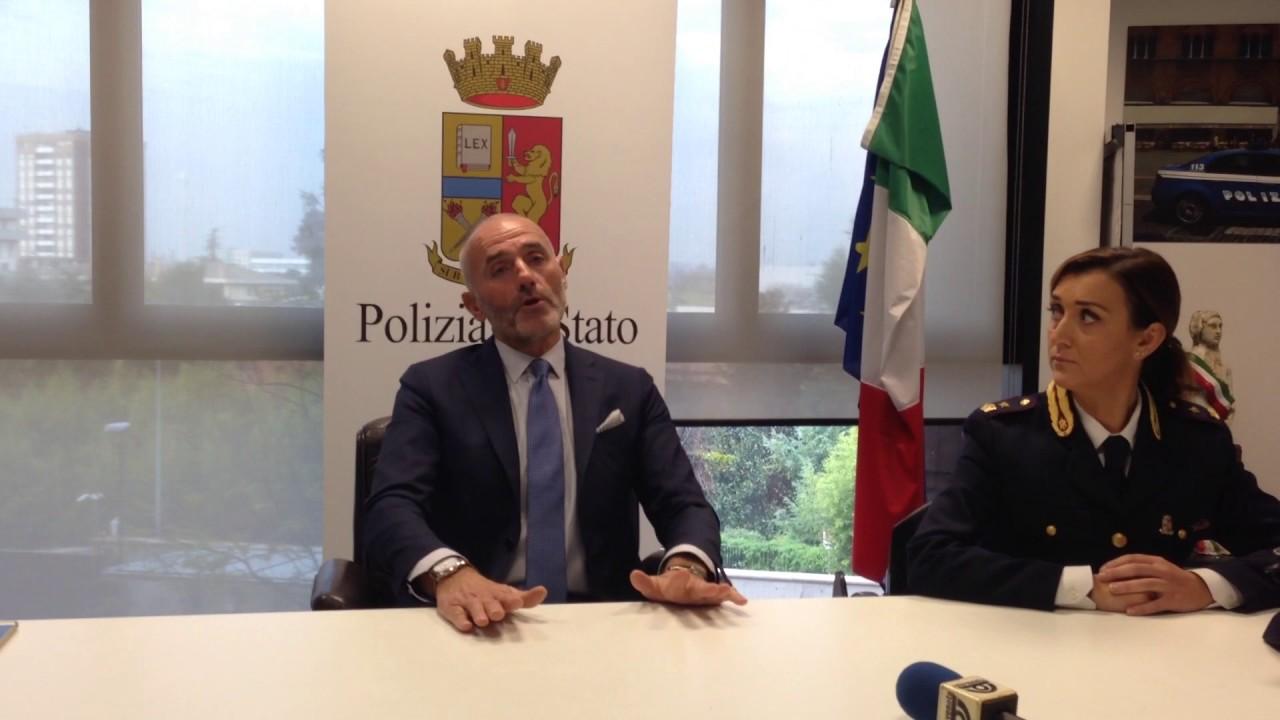 Il nuovo questore di Treviso, Maurizio Dalle Mura - YouTube