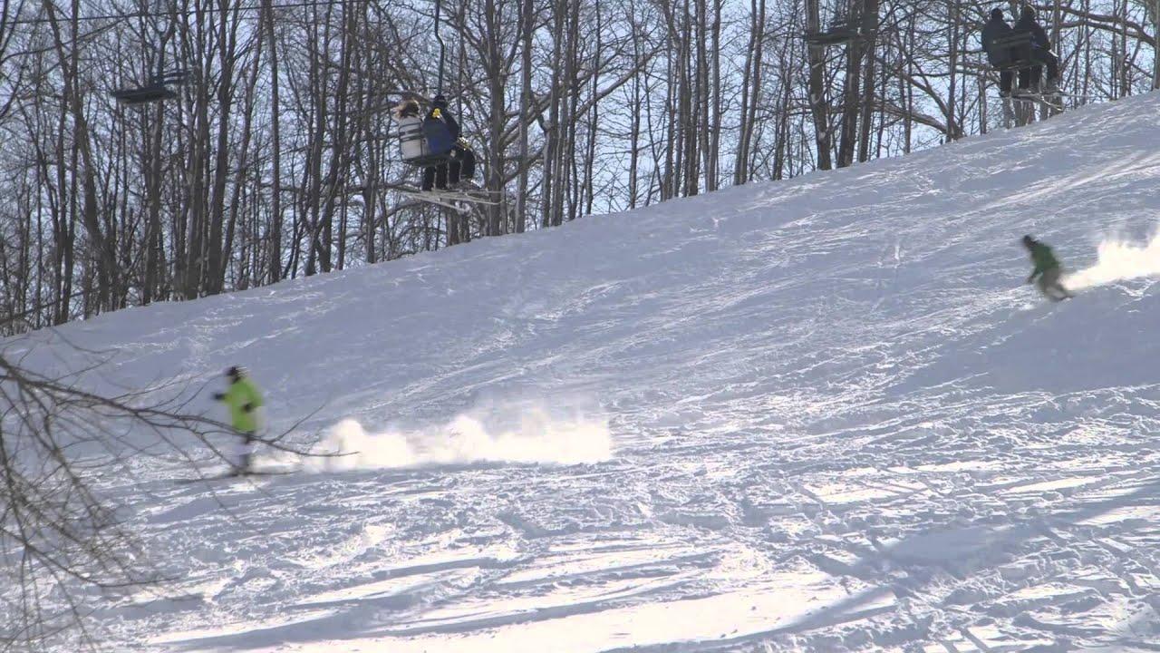 skiing in the western upper peninsula | pure michigan - youtube