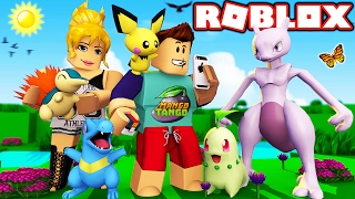 Roblox / Pokemon GO Gen 2 / CATCHING LEGENDARY MEWTWO?!