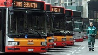 Italia: sciopero dei trasporti pubblici. Disagi contenuti