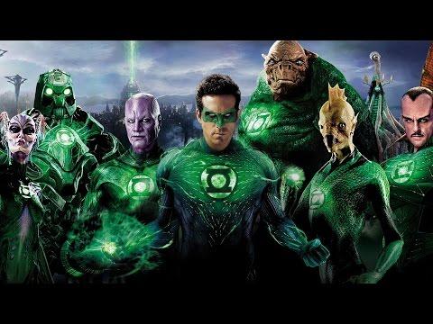 Green Lantern Rise Of The Manhunters Full Movie All Cutscenes Cinematic
