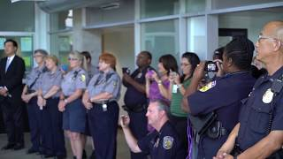 You Raise Me Up--原聲合唱團達拉斯警局演唱 You Raise Me Up by Vox Nativa in Dallas Police Office at