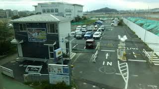湘南モノレール5000系 側面展望 大船→湘南江の島 5611編成