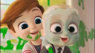 The Boss Baby - Tim And Boss Baby Escape From Eugene