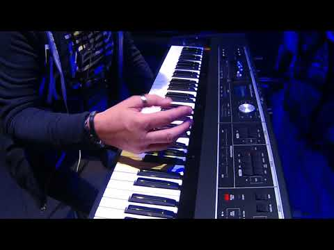 NAMM 2018   Roland VR 730 Performance Keyboard