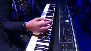NAMM 2018   Roland VR 730 Performance Keyboard