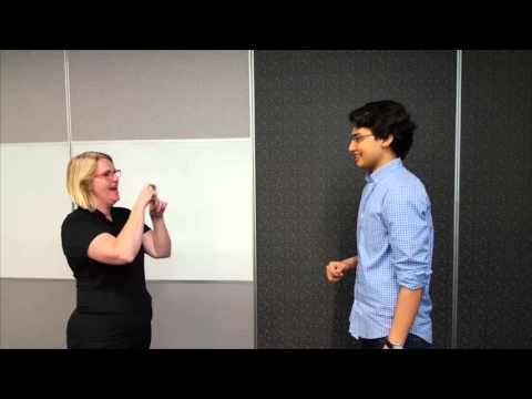 CommsAU Grads: Introduction to Auslan