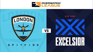 Overwatch Full Match London Spitfire vs New York Excelsior | OWL 2020 Season Opening Weekend | Day 1