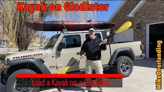 kayak on a jeep gladiator
