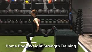 Home Body Weight Strength Training