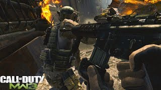 Call of Duty Modern Warfare 3: Black Tuesday Mission Gameplay - Xbox One X Backwards Compatible 2018