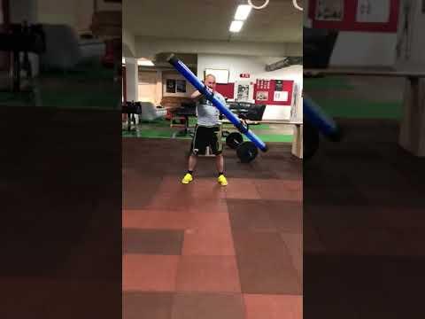Vorbereitung für den Strongman Beginner Cup om Hangover CrossFit Kenpokan Hannover