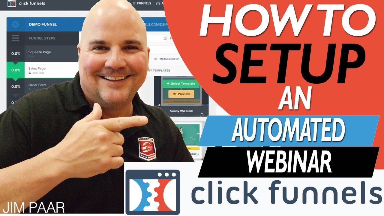 How To Setup A Clickfunnels Automated Webinar 2019 - Step by Step