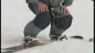 Видео уроки Сноубординг Техника прыжка с трамплина