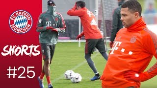 Blind Lewy, Hula-Hoop Gnabry & Snow Ball Fight | FC Bayern Shorts Vol. 25