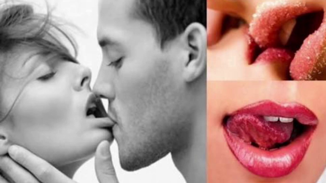 Tongue kissing tricks