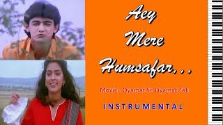 aey mere humsafar-QSQT-Instrumental On Keyboard