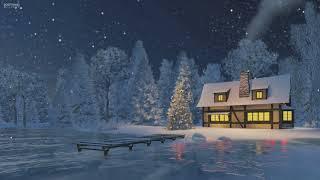 Silent Night on Music Box - Christmas Lullaby for Sleep