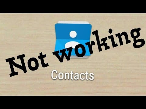 How To Fix Contacts Not Working Problem Solve