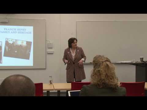 Ross Leadership Institute Series at Otterbein University: Francie Henry (4/17/18)