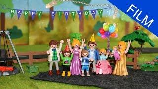 Playmobil Film Deutsch GEBURTSTAGPARTY MIT PUBLIC VIEWING