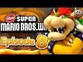New Super Mario Bros. Wii Gameplay Walkthrough - Episode 8 - World 8! The End! (Nintendo Wii)