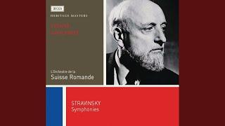 Stravinsky: Symphony in C - 1. Moderato alla breve - Tempo agitato senza troppo accelerare -...