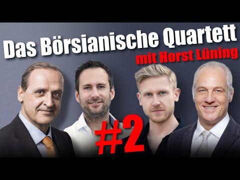 Gold & Aktien: So verdienen Profis im Crash –  Das Börsianische Quartett mit Lüning & Homm