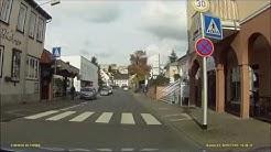 Ortsdurchfahrt im Odenwald/ERB: Bad König (Süd rein, Nord raus)